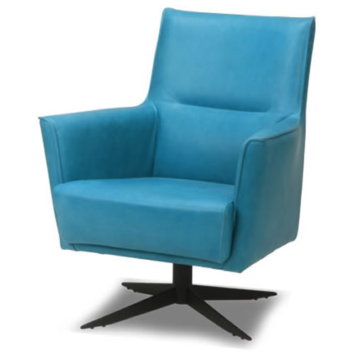 Fauteuil SPEED van DYYK in stof of leer