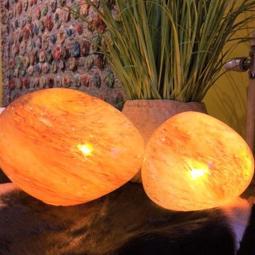 Rasteli lampen