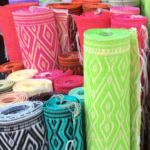 gerecyled plastic uit Senegal